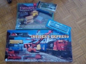 Train set and accessories for sale