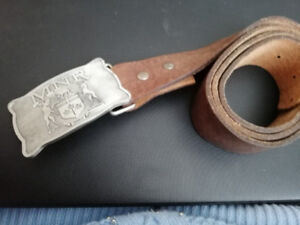 American Eagle Outfitters Leather Belt and Buckle