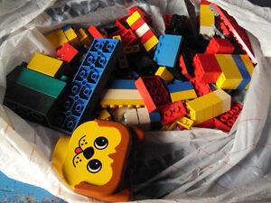 Lego Pieces.