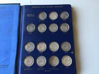 Monnaie canadienne 50 cents 1937-2015