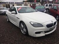 2013 BMW 6 SERIES 640d M Sport 2dr AUTO DIESEL HUGE SPEC