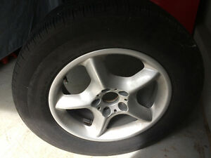 BMW X5 OEM rim and tire - MINT