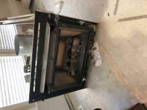 Washer/dryer, gas fireplace, and lights for sale