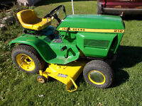 JOHN DEERE 212 WITH SNOW BLOWER!