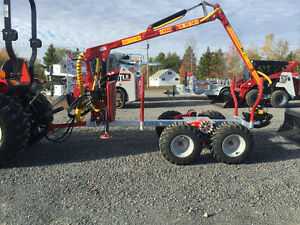 Log loader and Trailers for compact tractors $156.00/M and up St. John's Newfoundland image 16