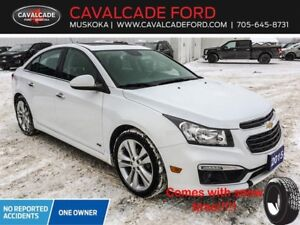 2015 Chevrolet Cruze 2LT RS MOONROOF LEATHER SNOW TIRES