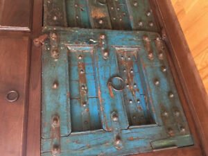 Incredible antique/ refurbished wood piece