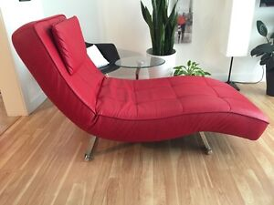 Chaise de relaxation style moderne.