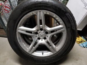 Ml320cdi 4 summer tire with rims