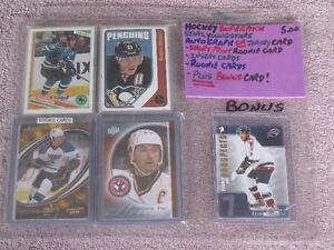 "HOCKEY SUPERPACK! - ""C"" -29 CARDS (ROOKIES,STARS,INSERTS) + MORE"