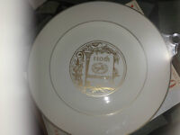 INSURURANCE 110TH ANNIVERSARVINTAGE NEW YORK LIFE PLATE 23 KT