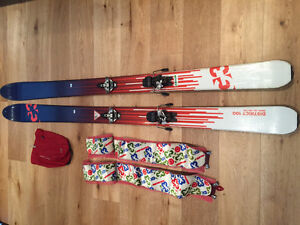 G3 District Backcountry Touring Skis 185 cm (Bindings and Skins)