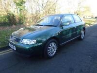 Audi A3 1.8 auto SE 1999/V 121,000 miles long mot recent service