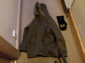 Mens parka XL