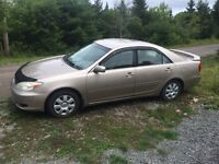 2003 Toyota Camry for parts or repair