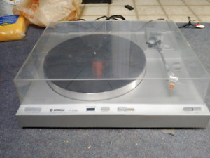 Yamaha P-550 auto direct drive turntable c/w Grado Cart