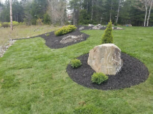 Excavation and landscaping services, hardscaping