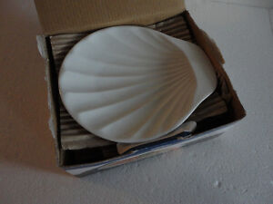 Brand new in box set of 4 shell shaped serving plates London Ontario image 2