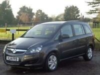 2014 Vauxhall Zafira 1.8 i VVT 16v Exclusiv 5dr MPV Petrol Manual