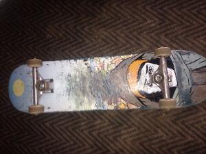 Skateboard setup for a bmx