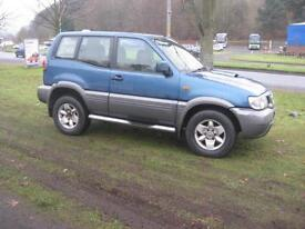 Nissan Terrano 2.7TD SE 4x4 Towbar, Twin Electrics, Air-conditioning