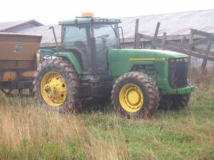 8100 John Deere Tractor