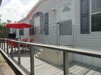 Grande maison mobile 2002 rénové à Dania Beach en Floride
