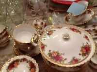 Old country roses patter china