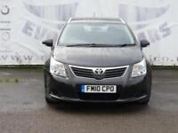 2010 TOYOTA AVENSIS 2.0 T2 D-4D DIESEL ESTATE TOWBAR PRIVACY GLASS 16 INCH ALLOY
