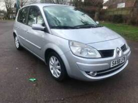 2008 58 RENAULT SCENIC 1.6 DYNAMIQUE 111bhp VVT 1 FORMER KEEPER LOW 100K PX SWAP