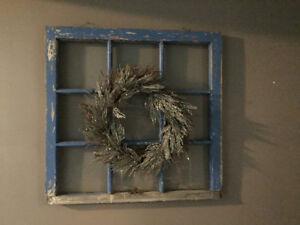 Antique Decorative Window Frame