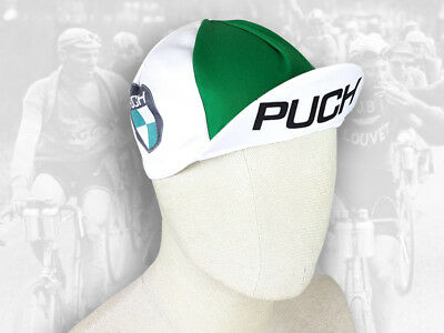 e492c6c4935 PUCH - Retro Vintage style Team Cycling Cotton Cap Eroica FREE SHIPPING