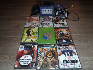 Nintendo Gamecube and 9 games
