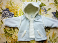 baby 3-6m clothes BebaBean Gap winter outerwear hat sweater pant