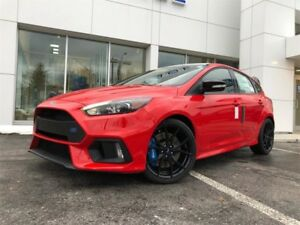 2018 Ford Focus RSRACE RED, READY TO GO , AWD , LOADED, 6 SPEED,