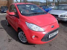 2011 Ford Ka 1.2 Zetec 3dr [Start Stop] 3 door Hatchback