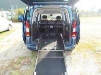 Peugeot Partner 1.6 Petrol WAV Wheelchair Accessible Vehicle Disability Car