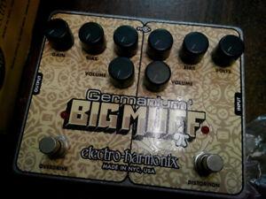 Electro Harmonix Germanium Big Muff Pi Distortion & Overdrive