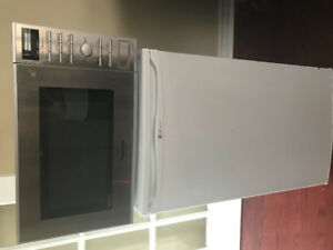 Fridge and microwave for student