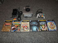 Nintendo Gamecube + 6 jeux/with 6 games