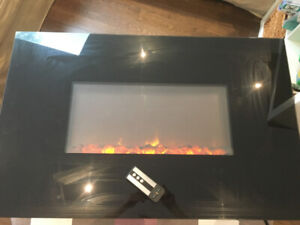 Sensational Wall Mounted Electric Fireplaces Buy New Used Goods Near Download Free Architecture Designs Intelgarnamadebymaigaardcom