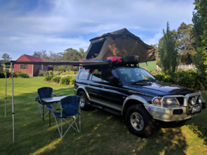 Mitsubishi Challenger 2002 4x4 4WD (Kings Roof Top Tent)