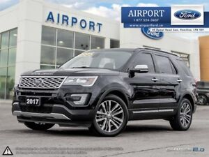 2017 Ford Explorer Platinum 4WD with only 38,152 kms