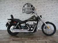 Harley Davidson FXDWG Wide Glide 2017 *Stage 1 and RARE!*