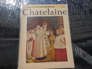 Chatelaine magazine June 1953