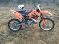 Stolen 2006 KTM XC-W 200