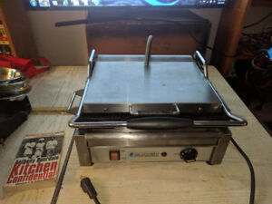 Industrial Panini Grill