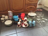 Kitchen job lot ideal for car boot