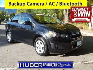 2015 Chevrolet Sonic Heated Seats/Backup Camera
