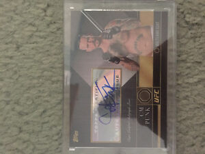 Autographed UFC Cards London Ontario image 1